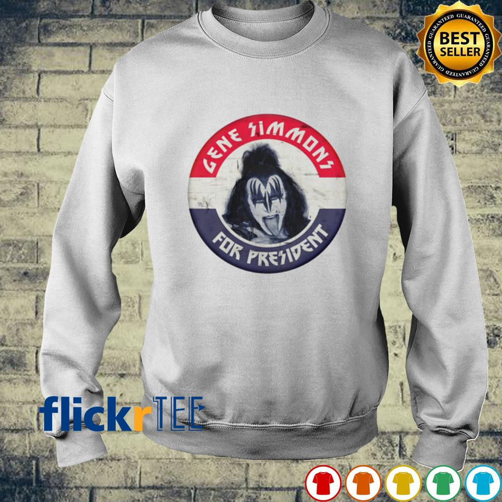 Gene Simmons for president election s sweater