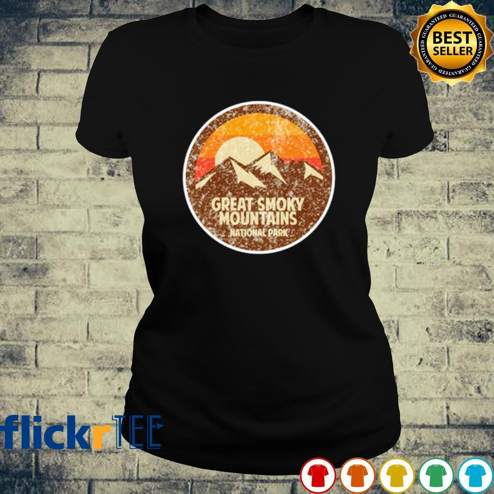 Great Smoky Mountains National Park Shirt ladies-tee