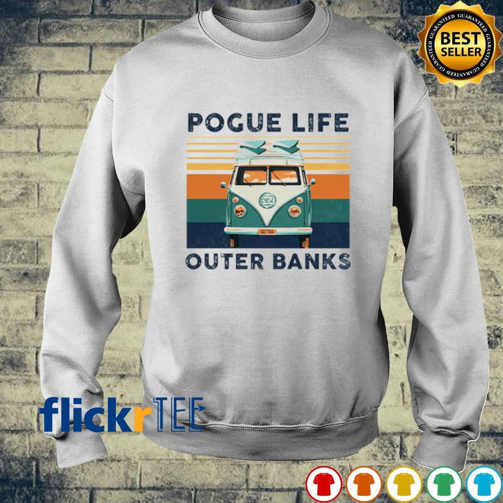 Hippie car pogue life outer banks vintage s sweater