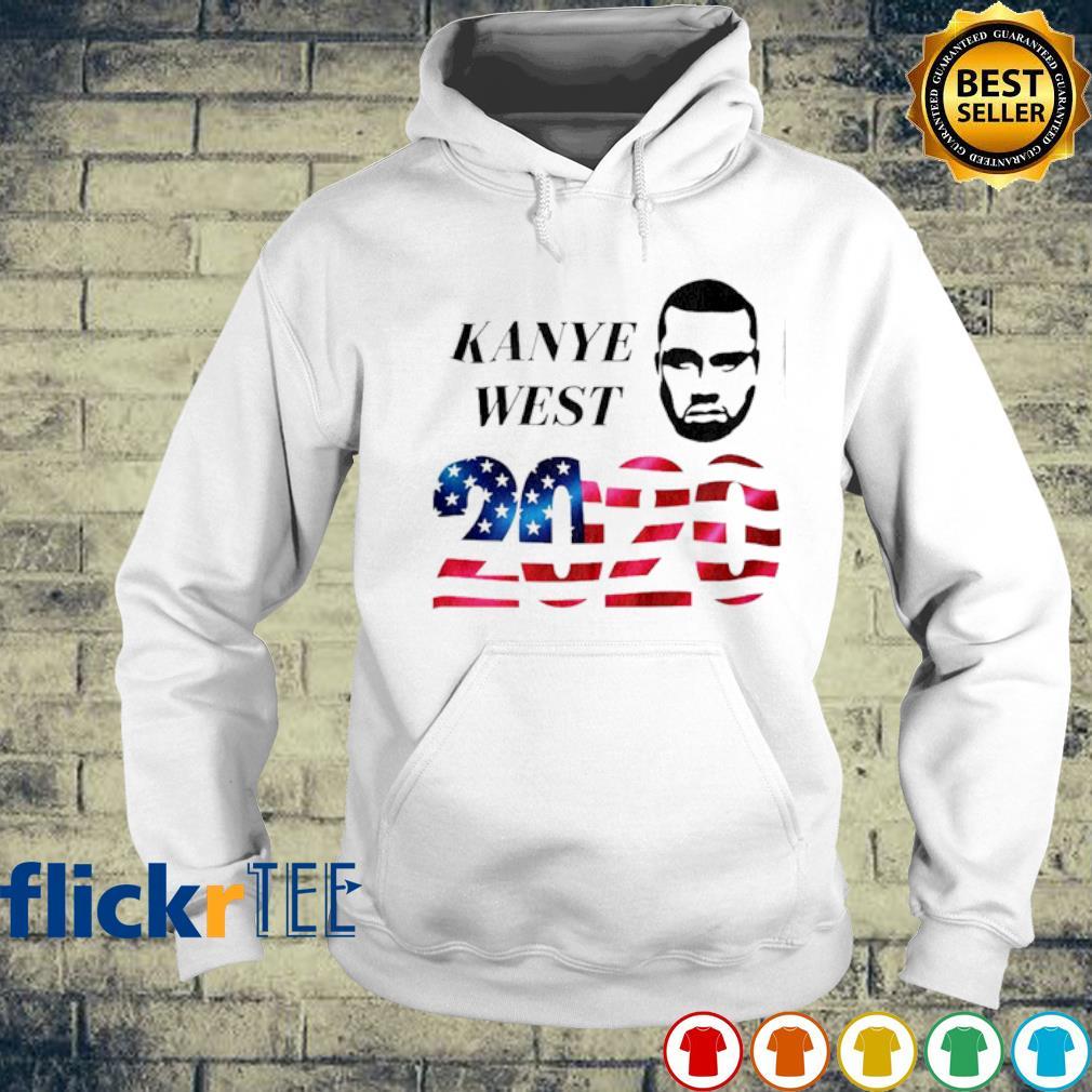 Kanye West 2020 American flag s hoodie