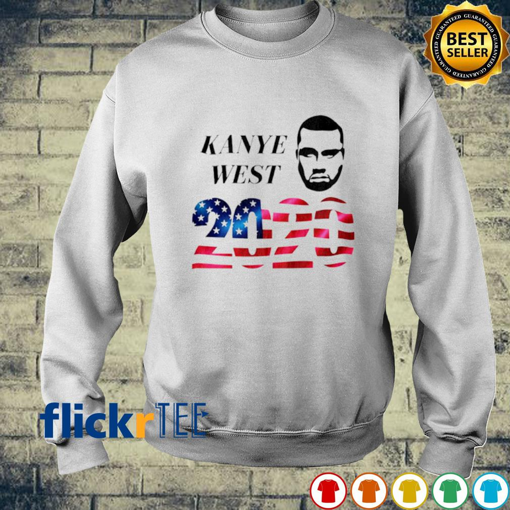 Kanye West 2020 American flag s sweater