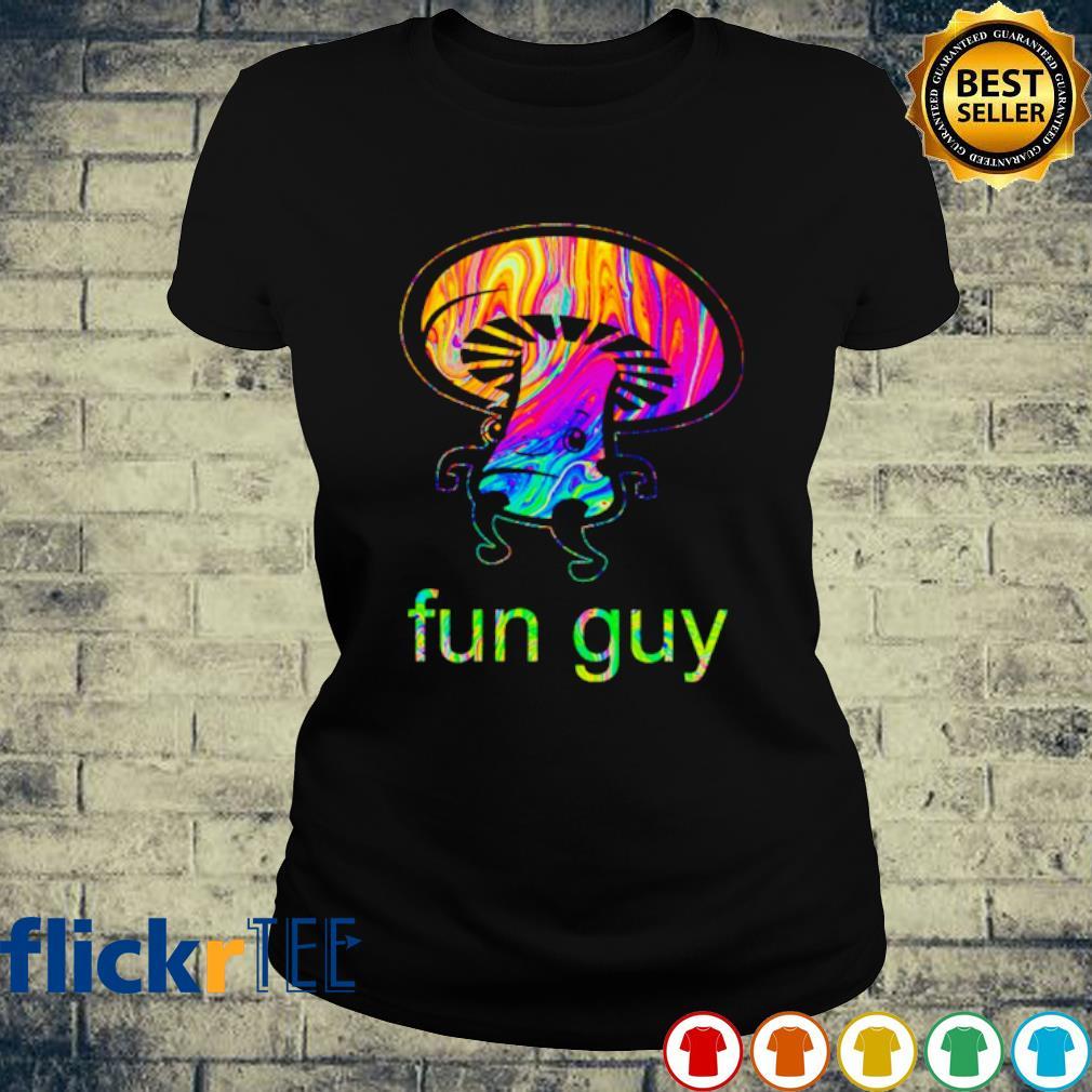 LGBT Mushroom Fun Guy s ladies-tee