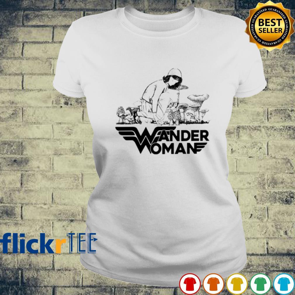 Mushroom Wander Woman s ladies-tee