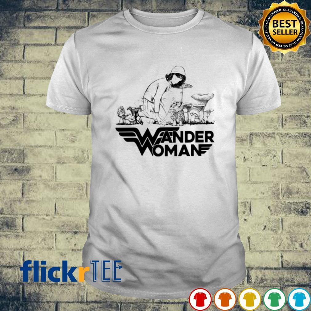 Mushroom Wander Woman shirt