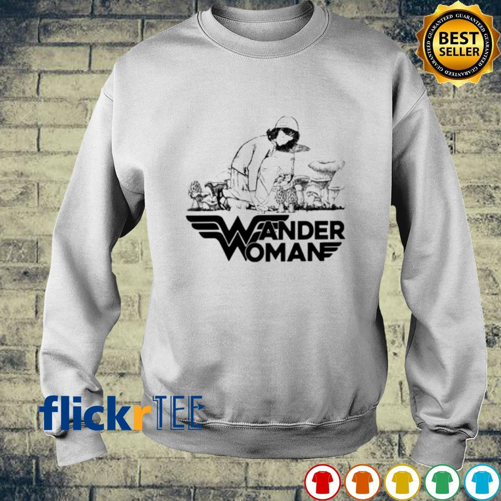 Mushroom Wander Woman s sweater