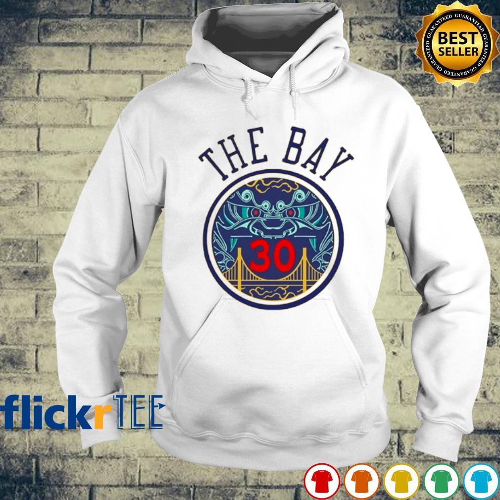 NBA Golden State Warriors Steph Curry The Bay s hoodie