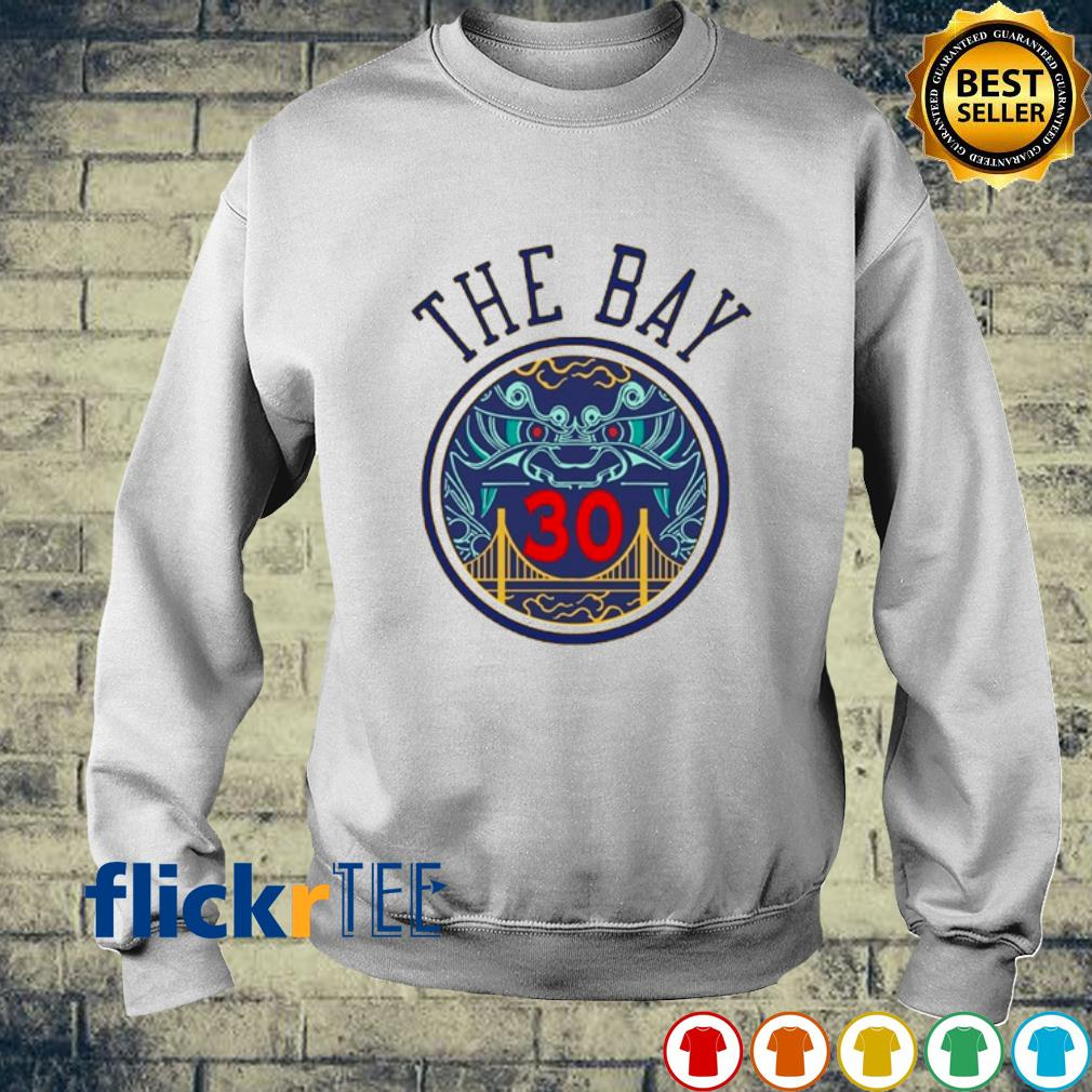 NBA Golden State Warriors Steph Curry The Bay s sweater