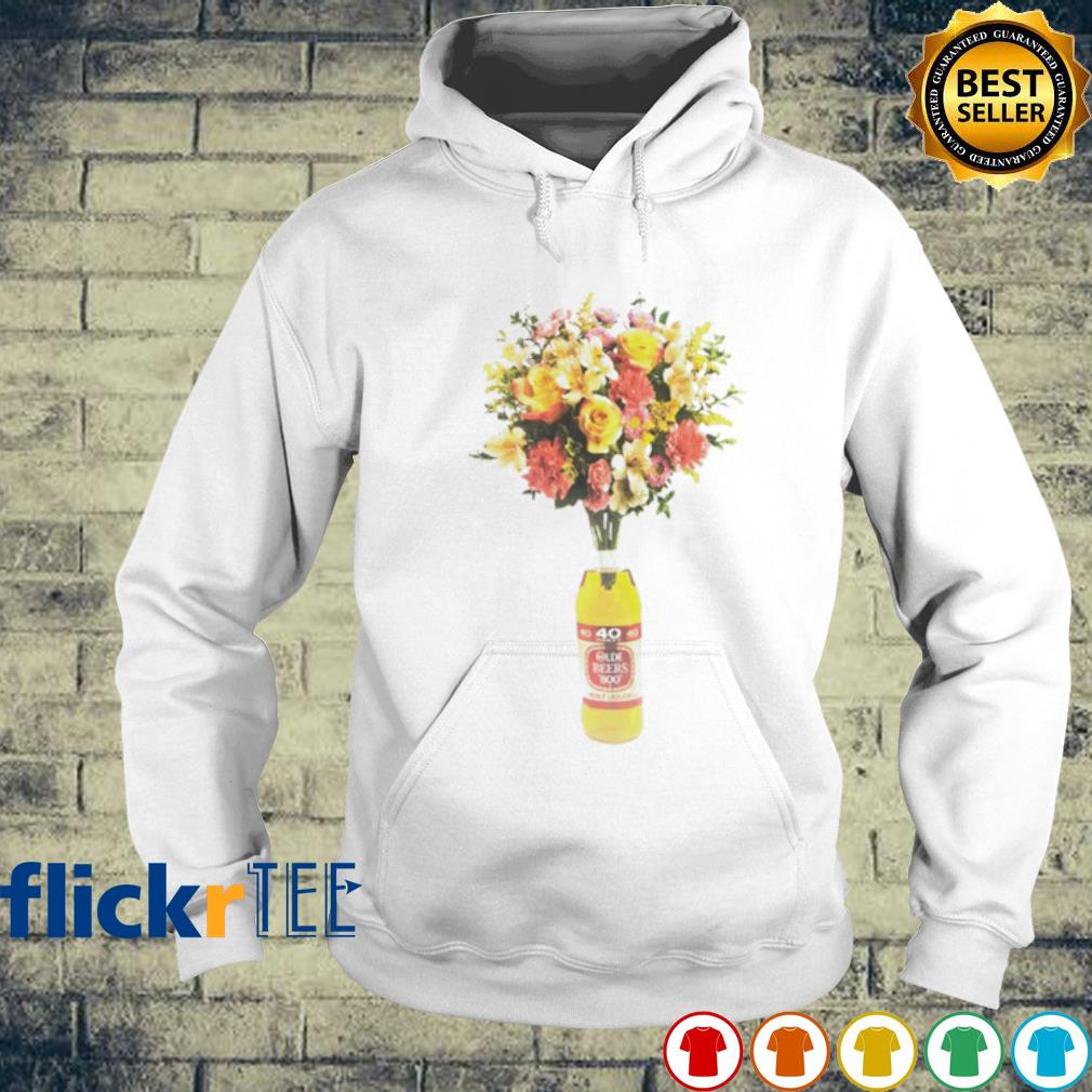 Olde English 800 yellow mothers day floral arrangements s hoodie