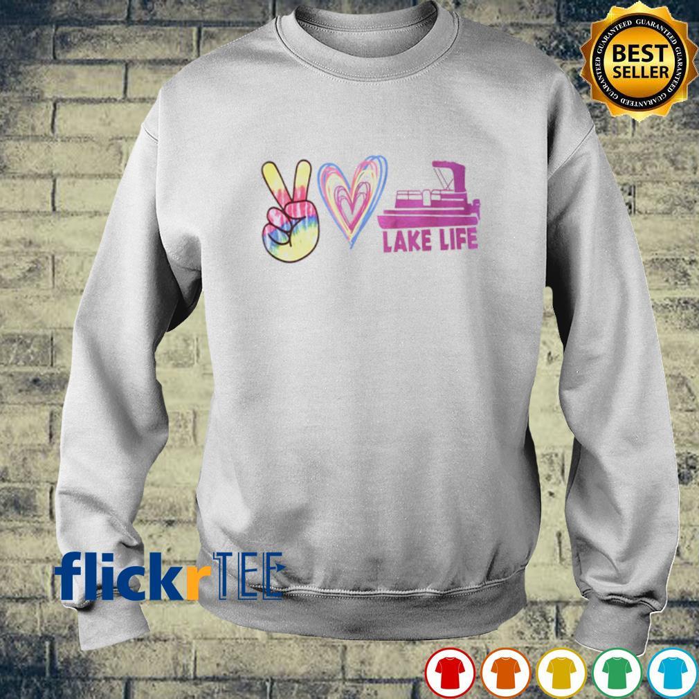 Peace love lake life s sweater