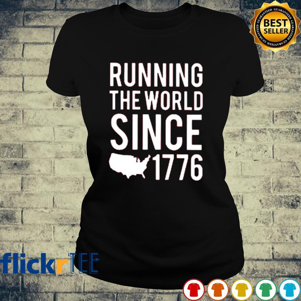 Running the world since 1776 s ladies-tee