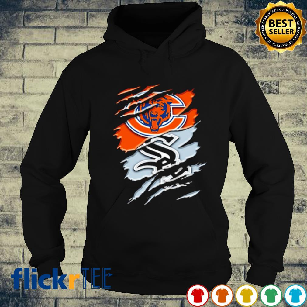 Scratch Chicago Bears and Chicago White Sox s hoodie