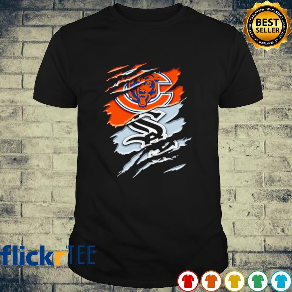 Scratch Chicago Bears and Chicago White Sox shirt