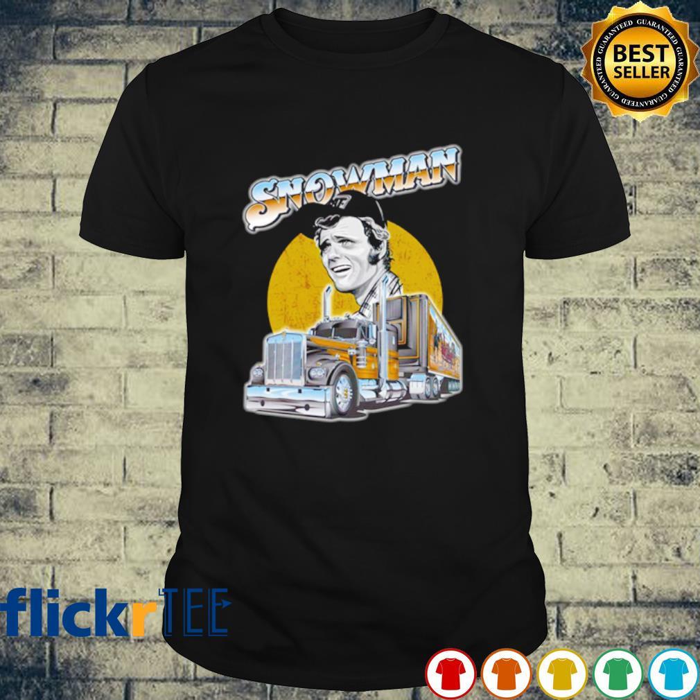 Snow man Trucker shirt