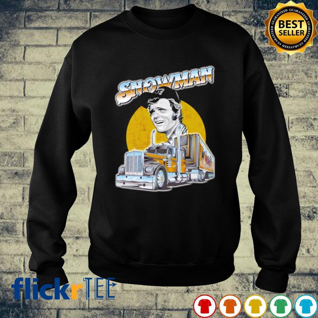 Snow man Trucker s sweater