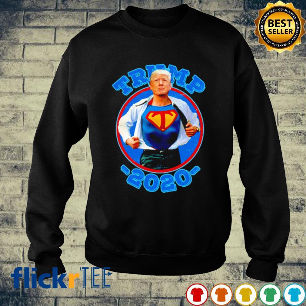Super Trump Re-Elect 2020 Election Superhero s sweater