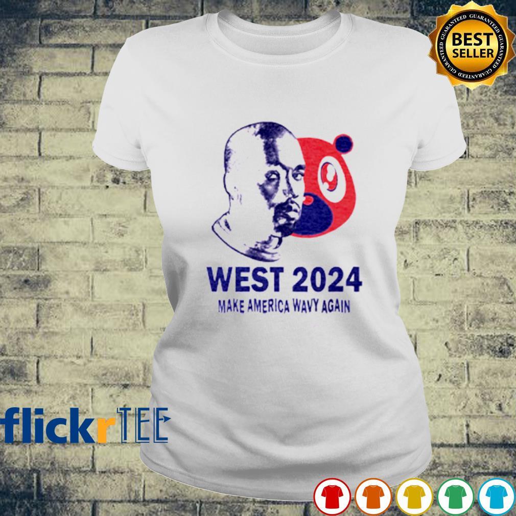 West 2024 make America wavy again s ladies-tee