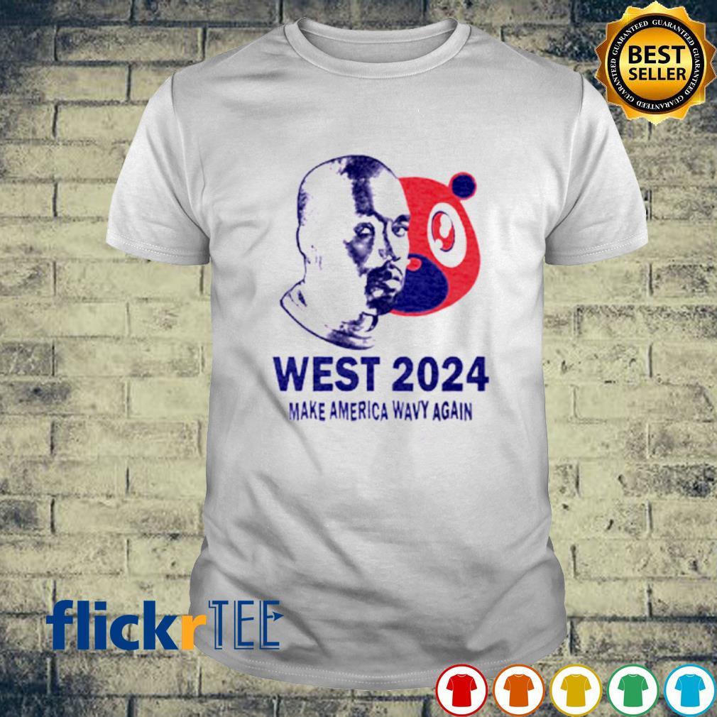 West 2024 make America wavy again shirt