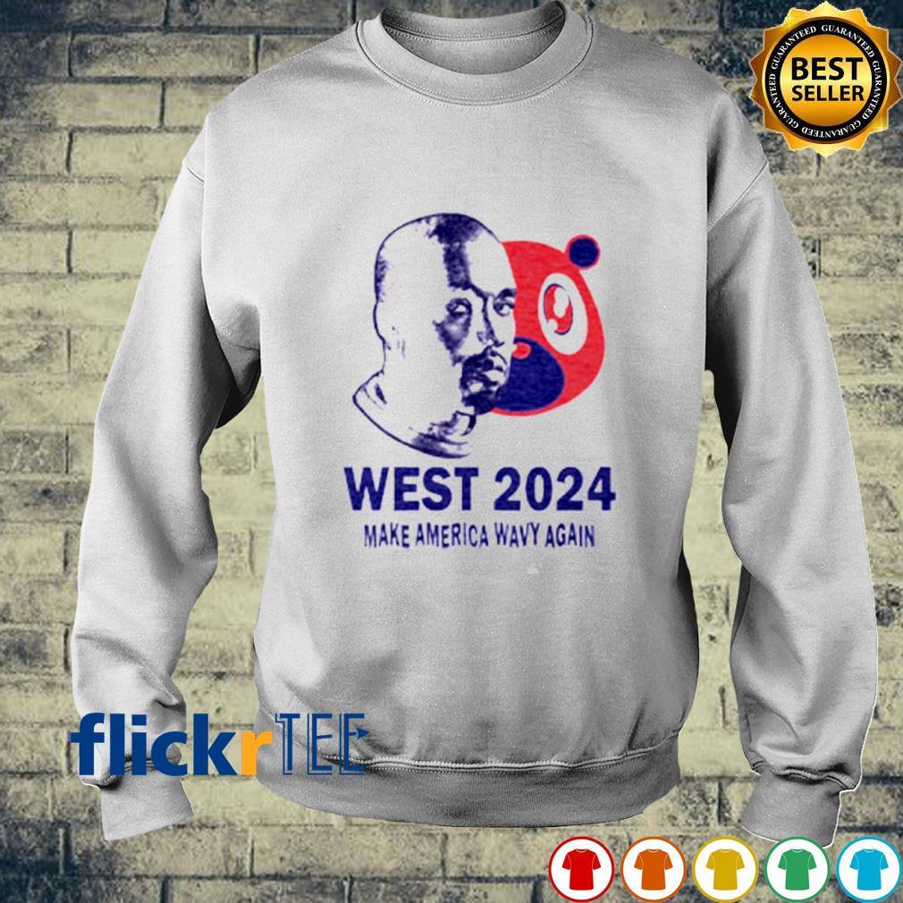 West 2024 make America wavy again s sweater