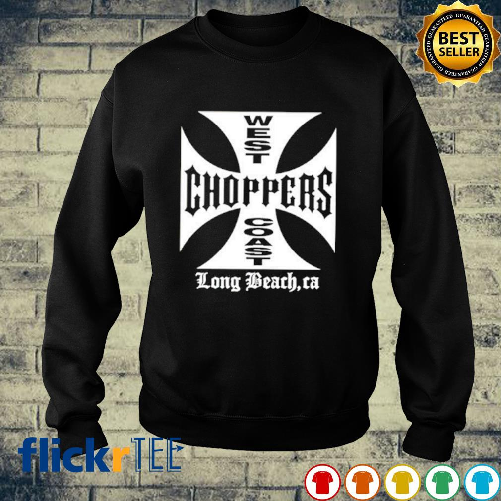 West choppers coast long beach ca s sweater