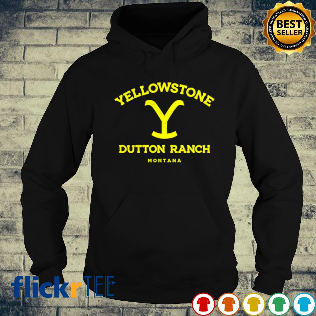 Yellowstone dutton ranch montana s hoodie