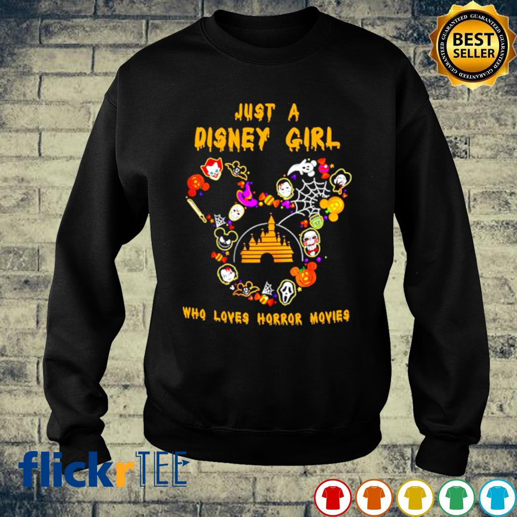 Just a Disney girl who loves Horror Movies s sweater