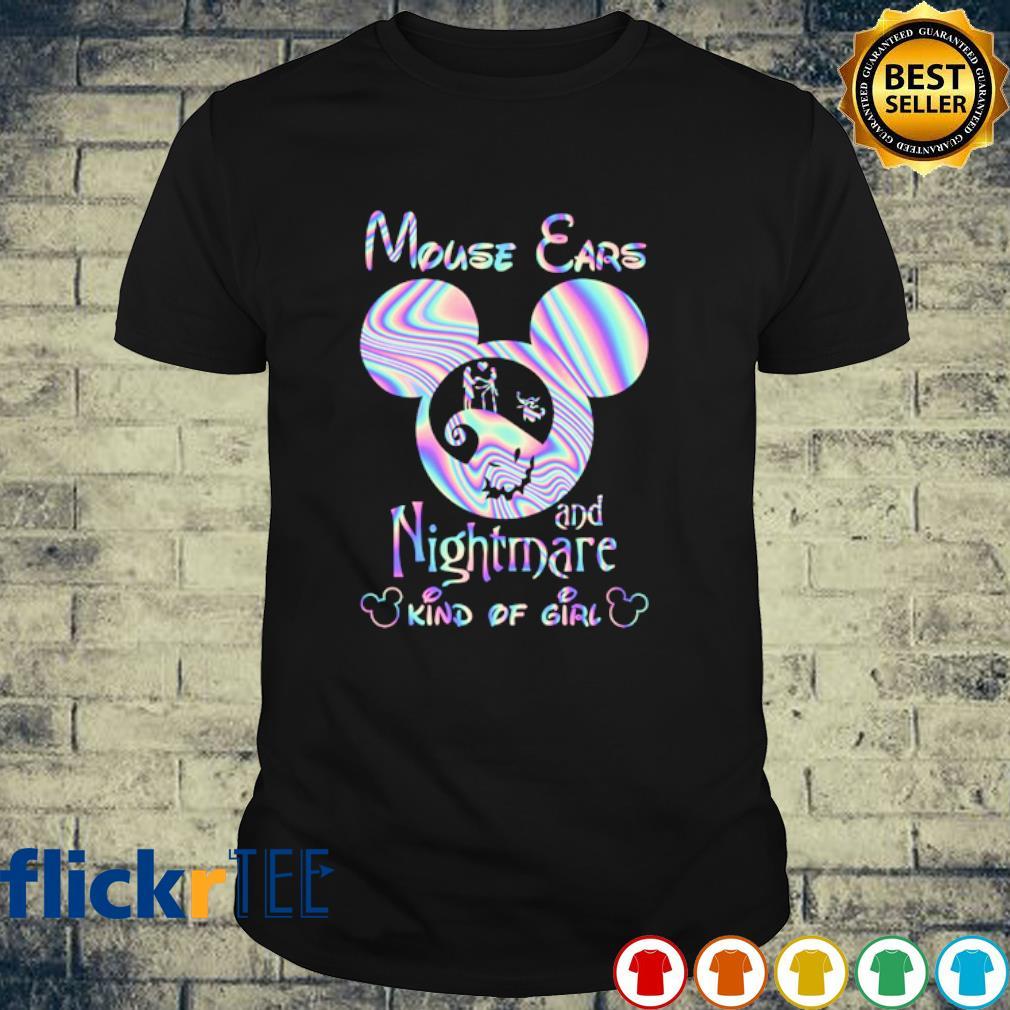 Mouse ears and nightmare kind of girl shirt