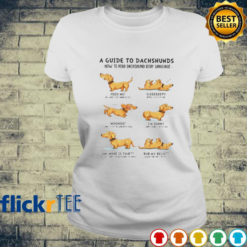 A guide to Dachshunds how to read Dachshund body language s ladies-tee