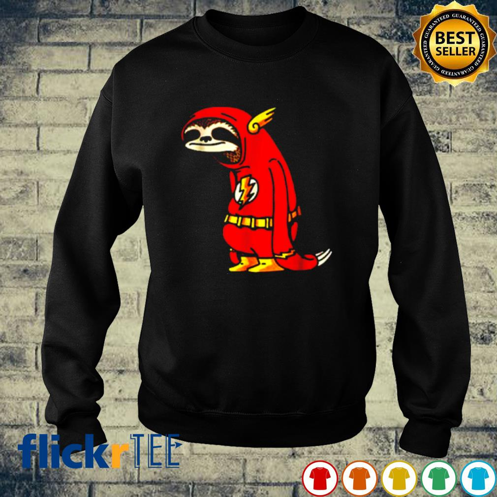 Slothy Super Hero Sloth Flash s sweater