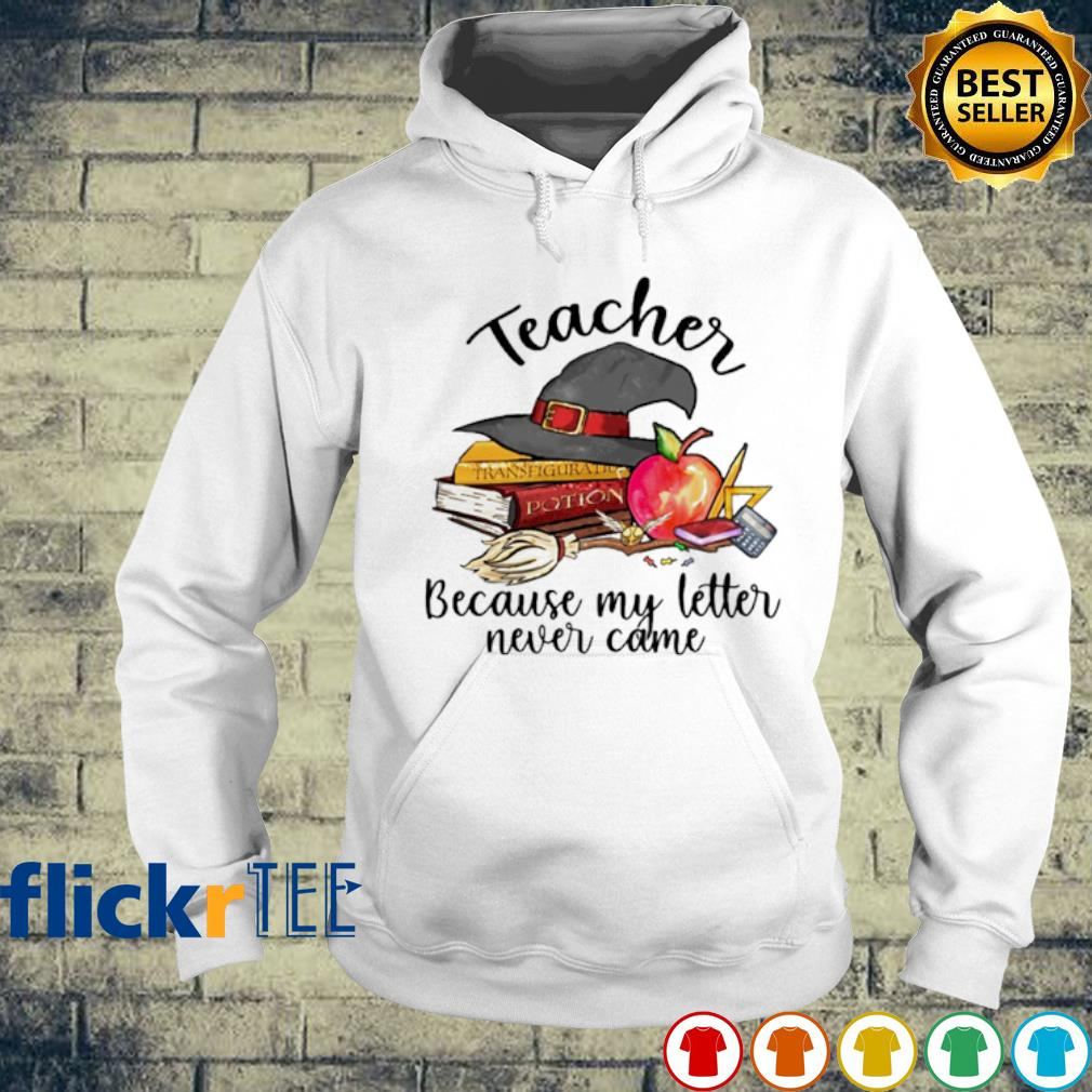 Witch teacher because my letter never came s hoodie