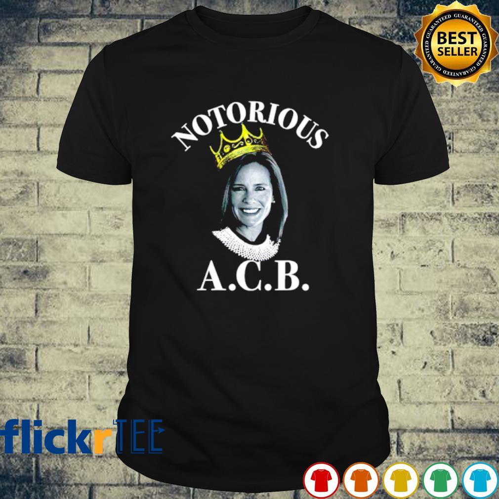 Amy Coney Barrett Notorious ACB shirt