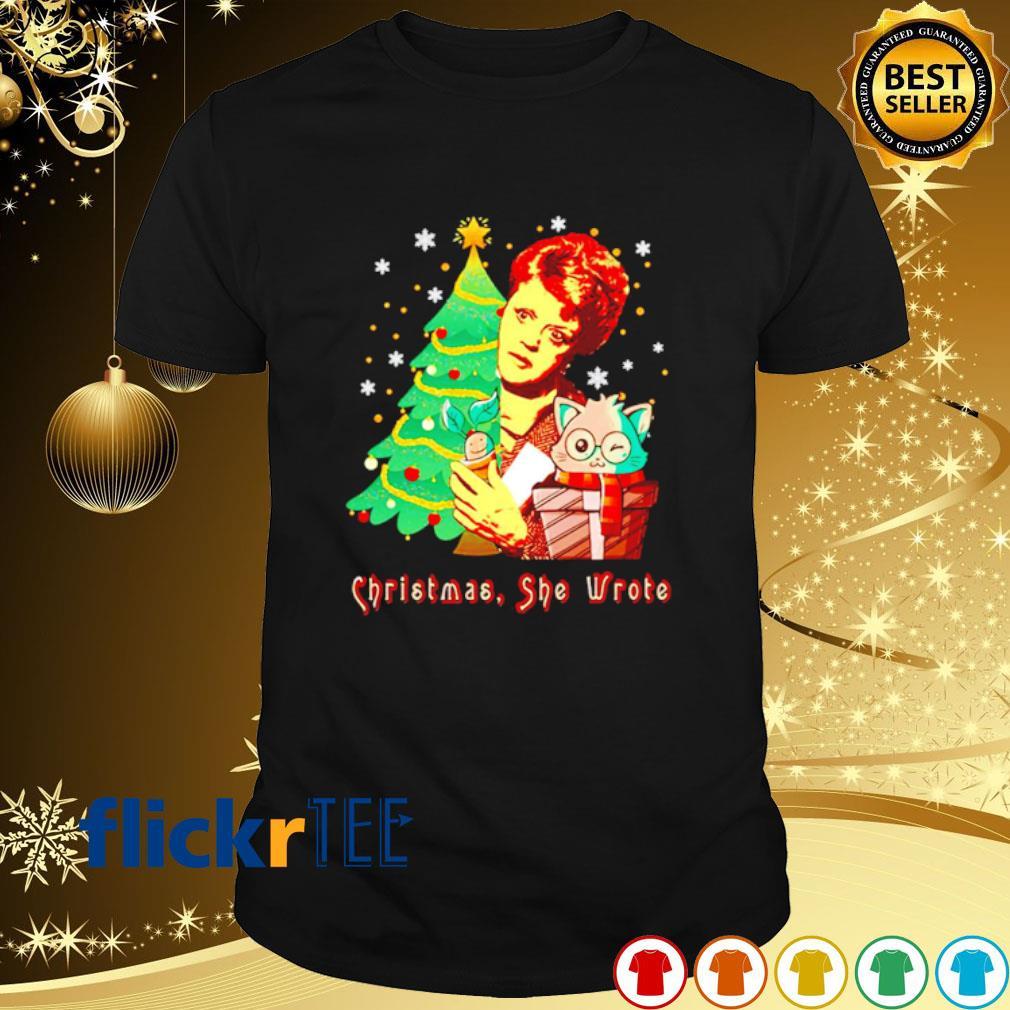 Angela Lansbury Christmas she wrote shirt
