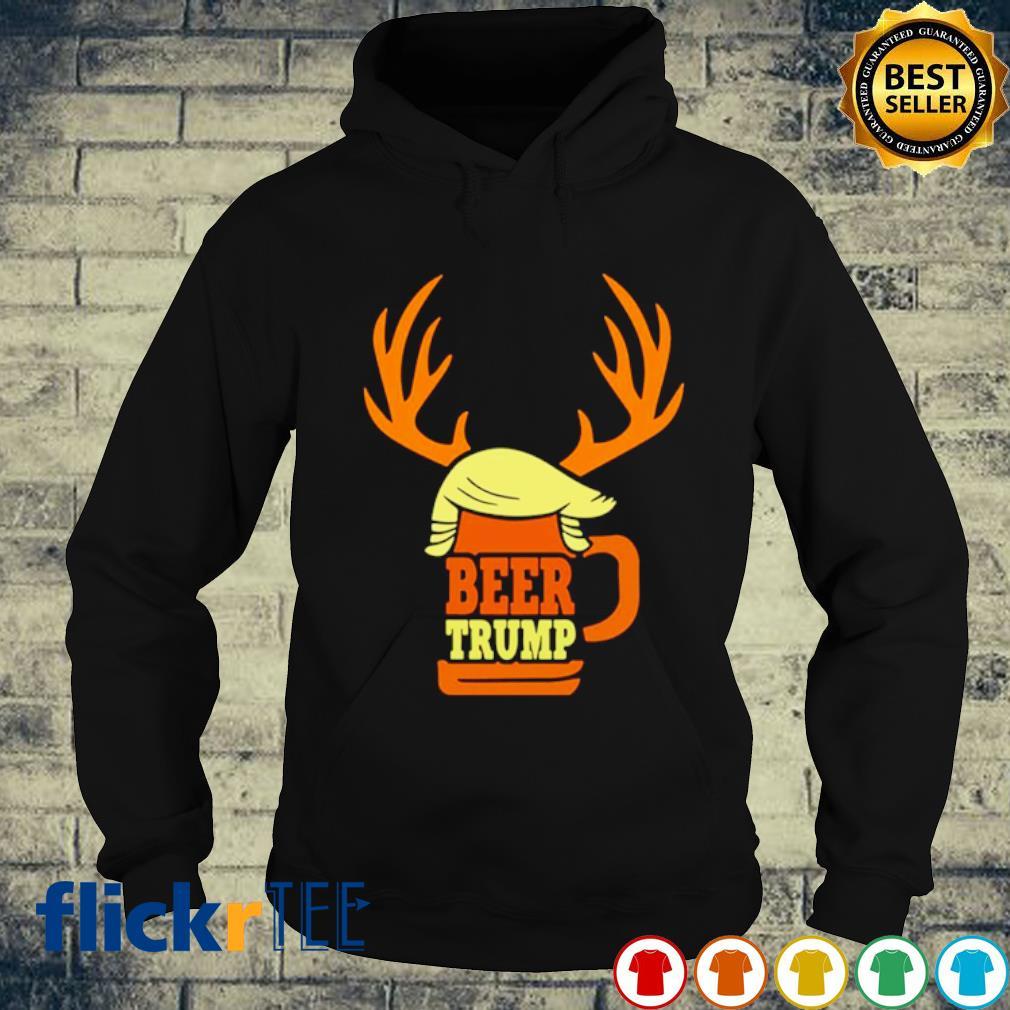 Beer Trump Reindeer Christmas s hoodie