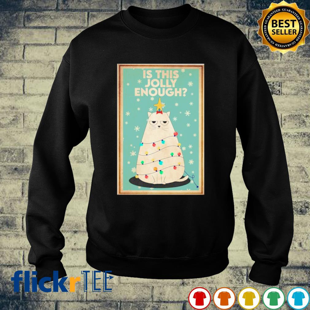 Cat Christmas tree is this jolly enough s sweater