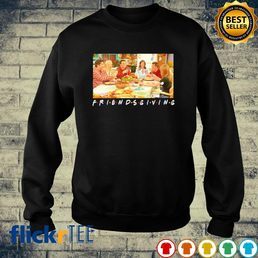 Friends TV Show characters Thanksgiving friendsgiving s sweater