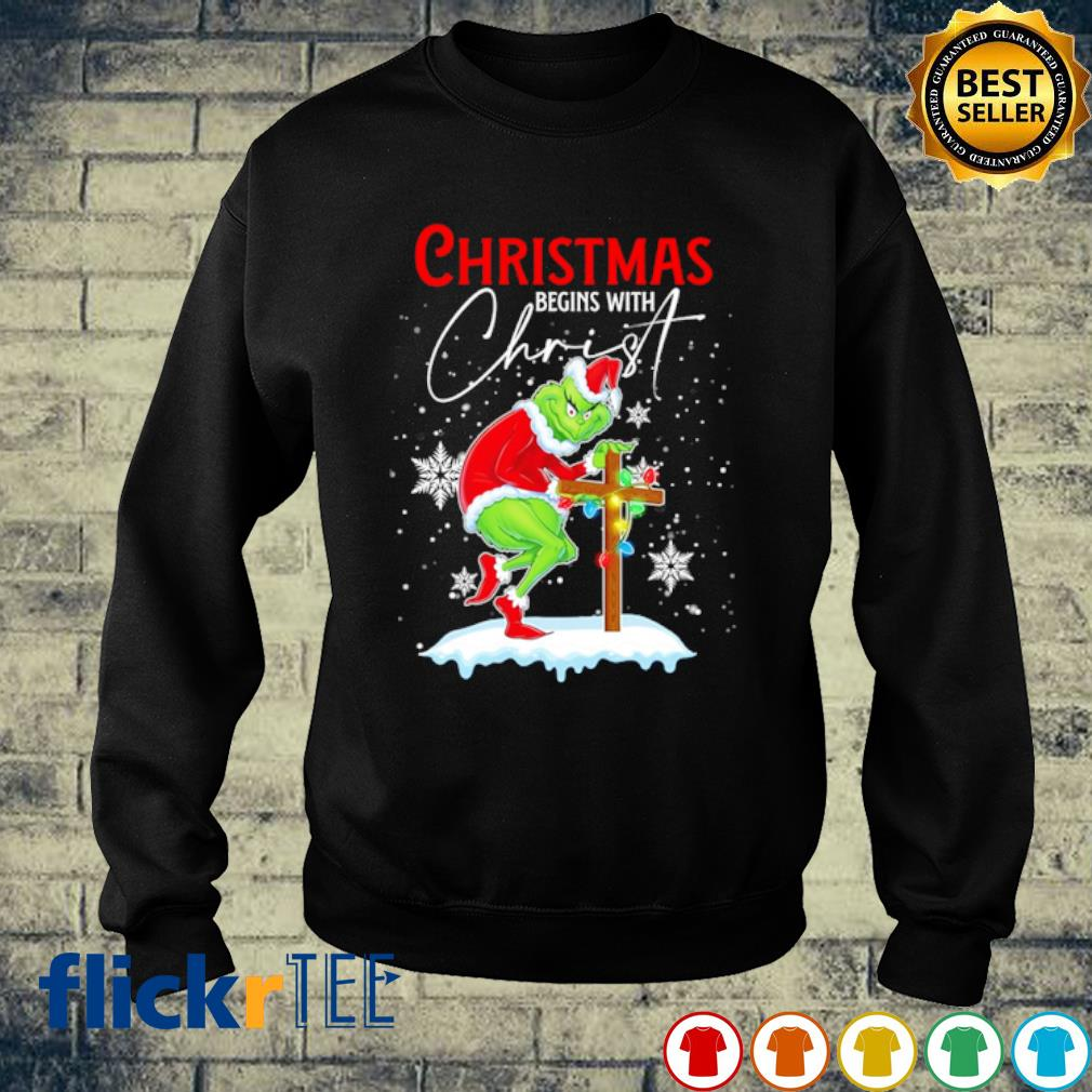 Grinch Christmas begins with Christ s sweater