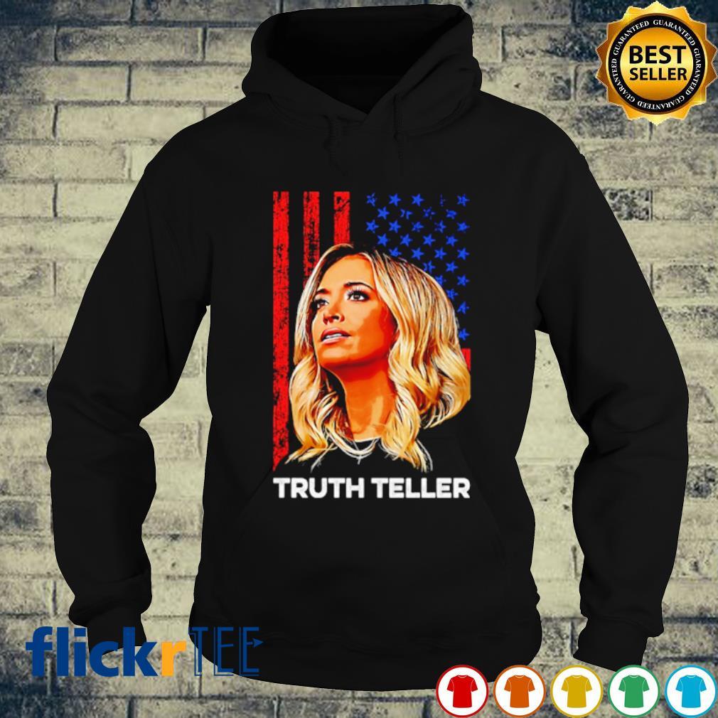 Kayleigh McEnany truth teller American flag s hoodie