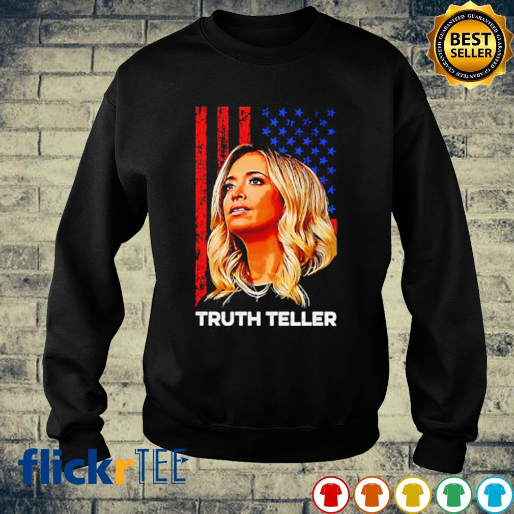 Kayleigh McEnany truth teller American flag s sweater