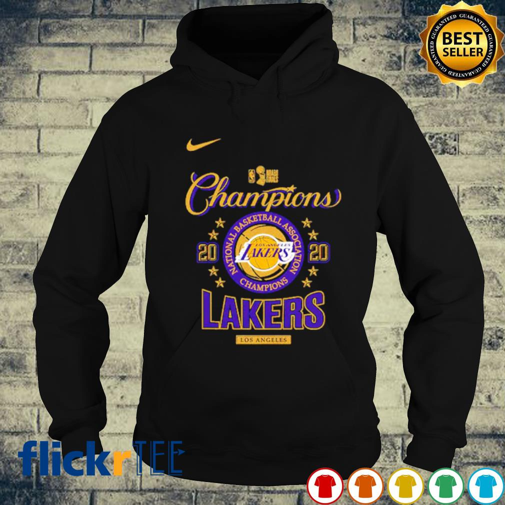 Los Angeles Lakers champions 2020 national basketball s hoodie