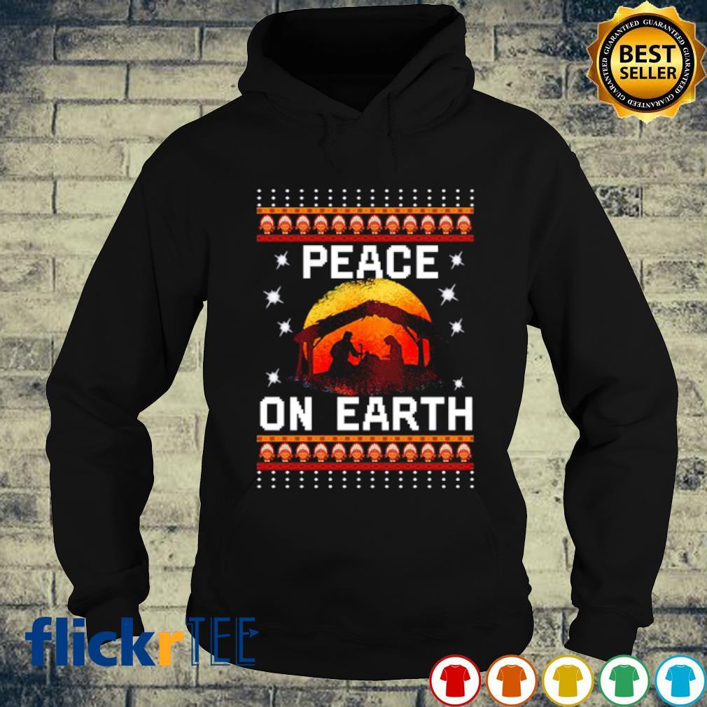 Nativity Jesus Peace On Earth Christmas s hoodie