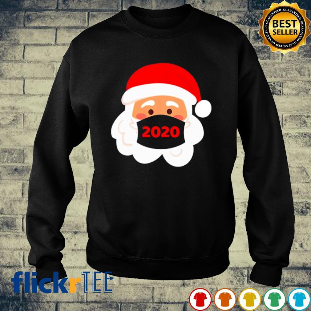 Santa face mask 2020 s sweater