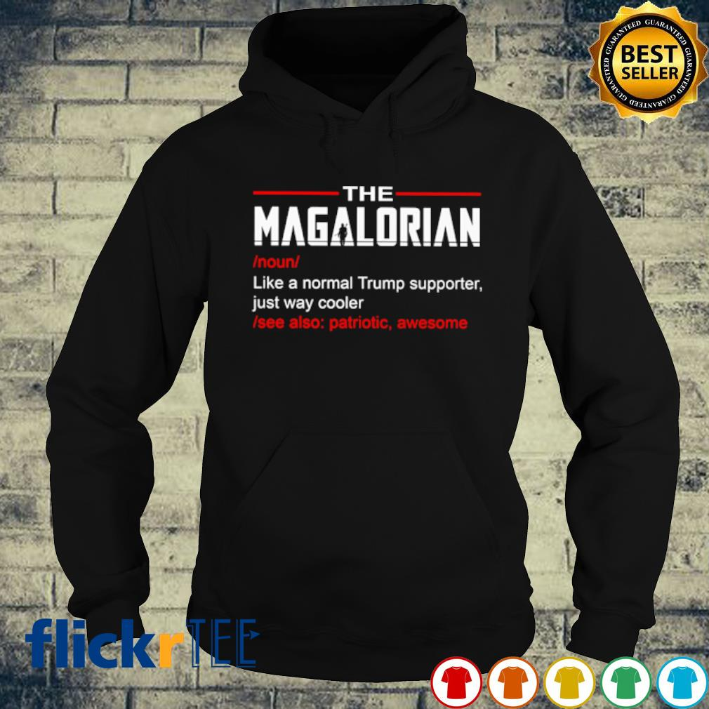 The Magalorian like a normal Trump supporter just way cooler s hoodie