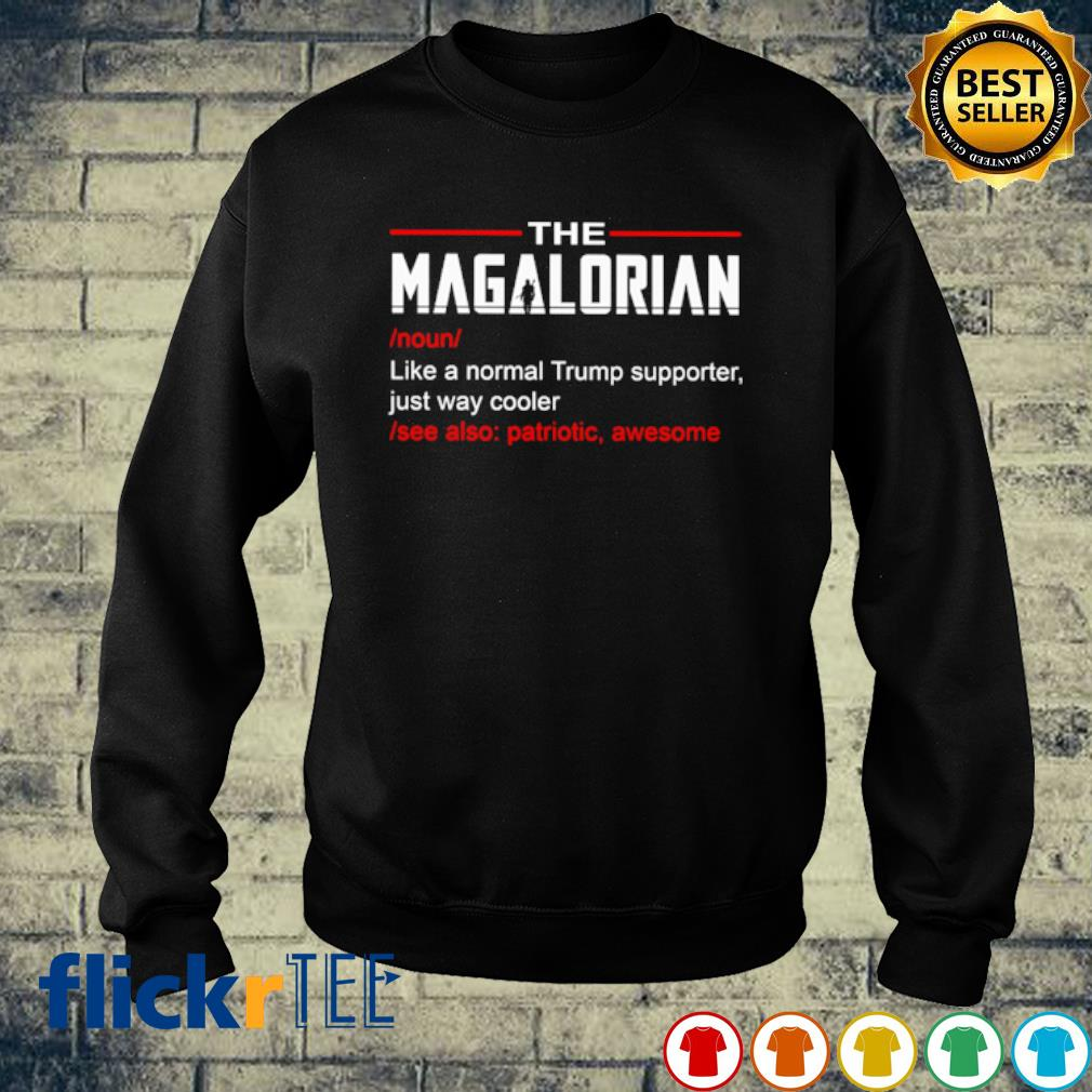 The Magalorian like a normal Trump supporter just way cooler s sweater