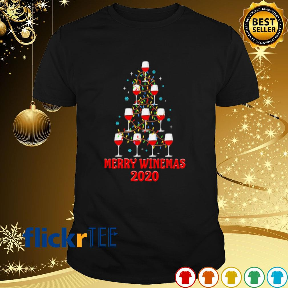 Top Wines For Christmas 2020 Wine as Christmas tree merry winemas 2020 shirt, hoodie, sweater