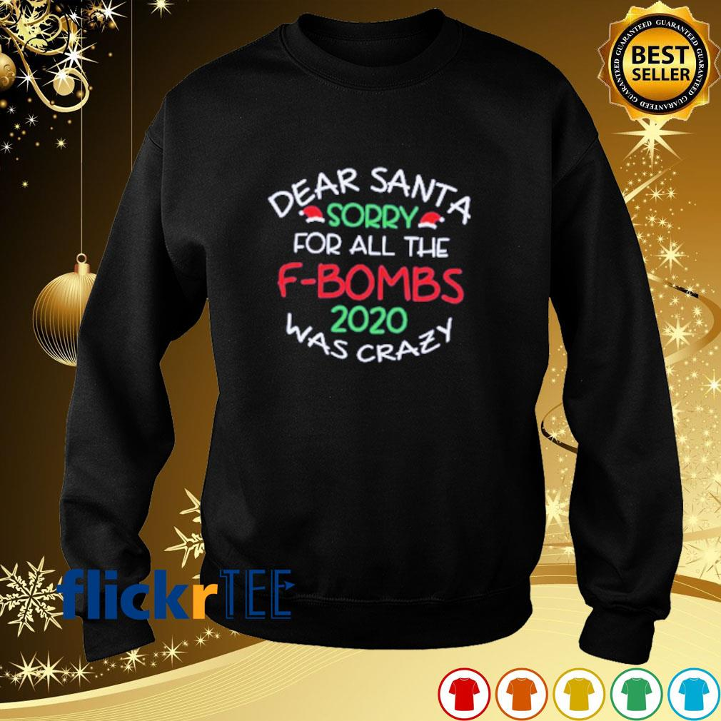 Dear Santa sorry for all the F-bombs 2020 was crazy s sweater