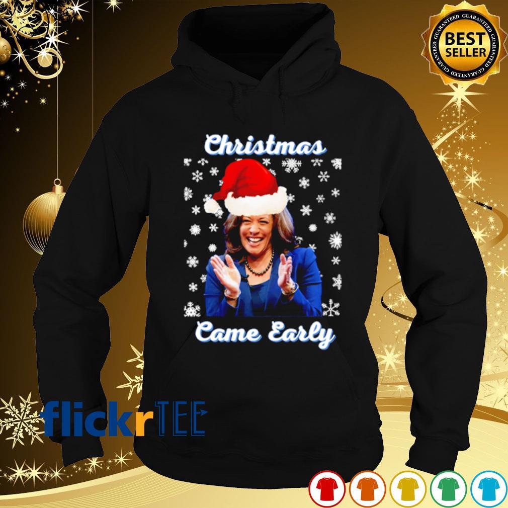 Kamala Harris Christmas came early s hoodie