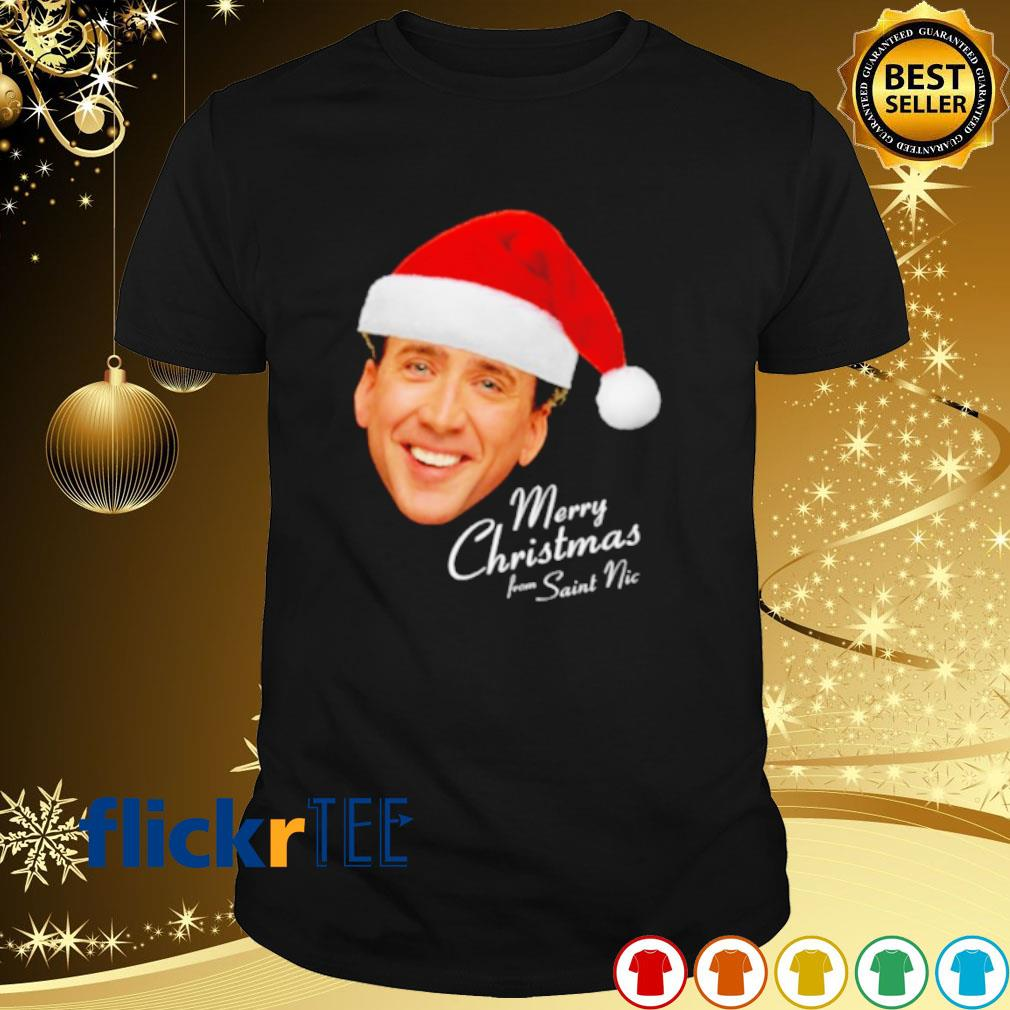 Merry Christmas from Saint Nic shirt