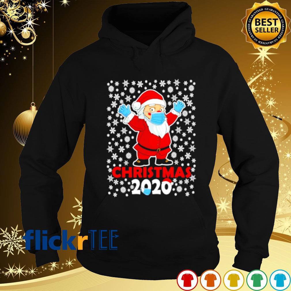 Satan face mask Christmas 2020 s hoodie