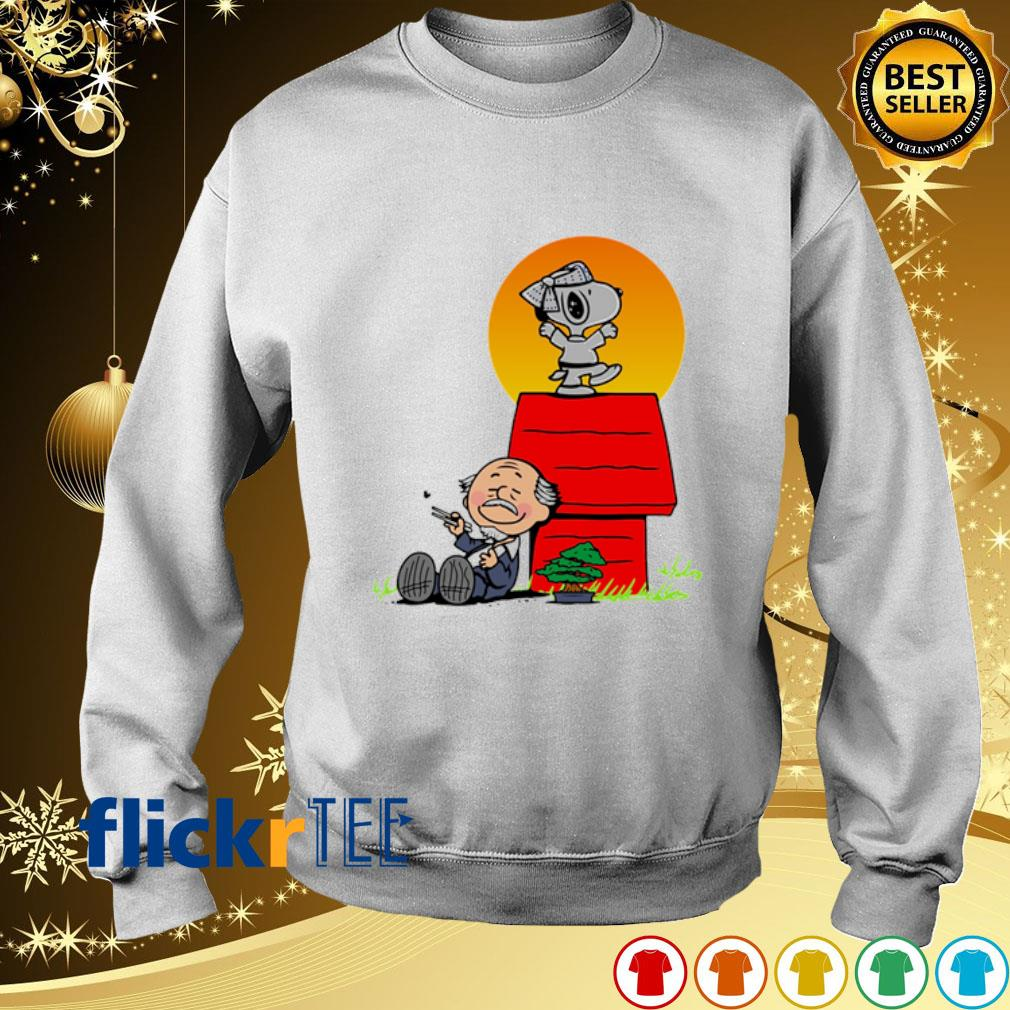 Snoopy Karate Nuts s sweater