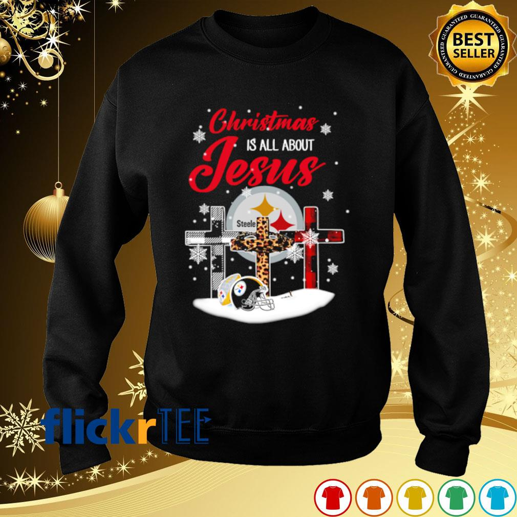 Steelers Christmas is all about Jesus Christmas s sweater
