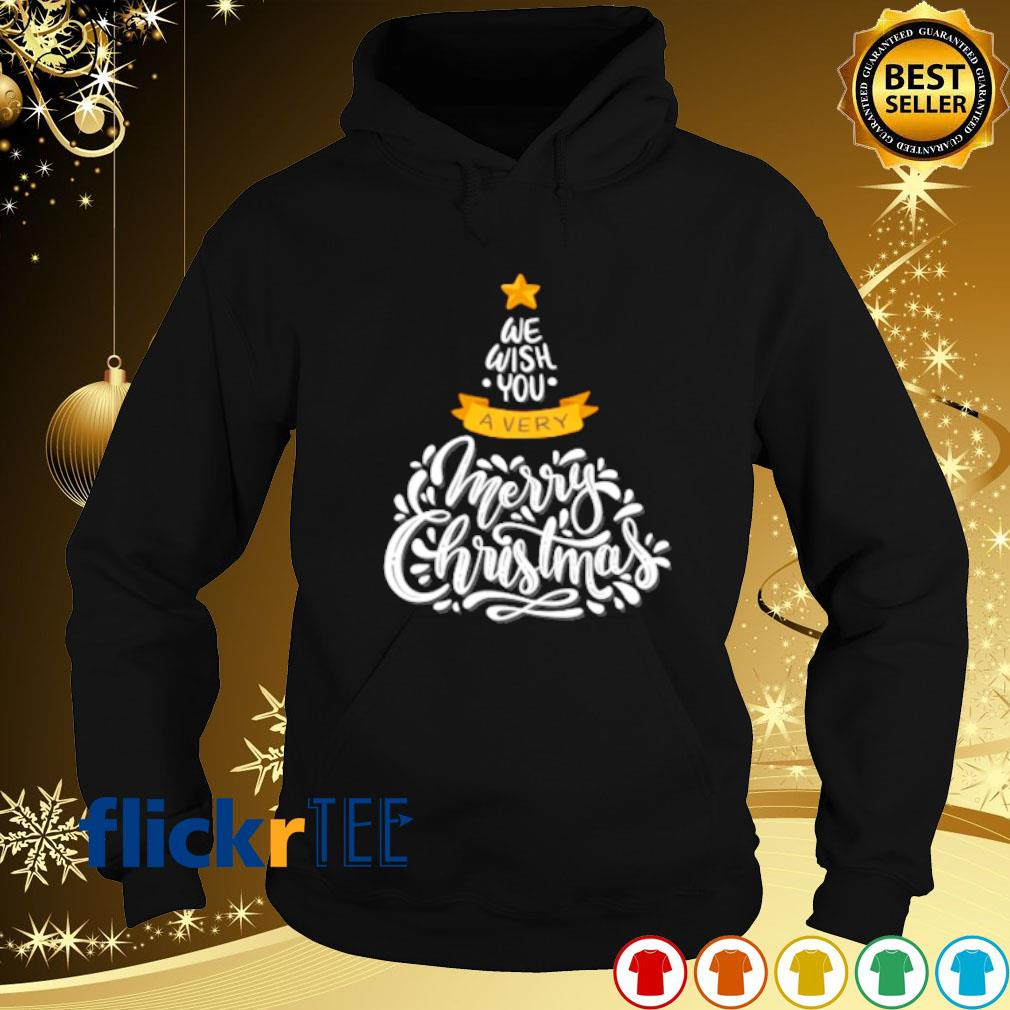 We wish you a very merry Christmas s hoodie